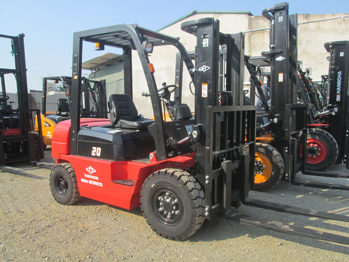 Xe nâng dầu 2 tấn A Series CPCD20-AG2 HangCha