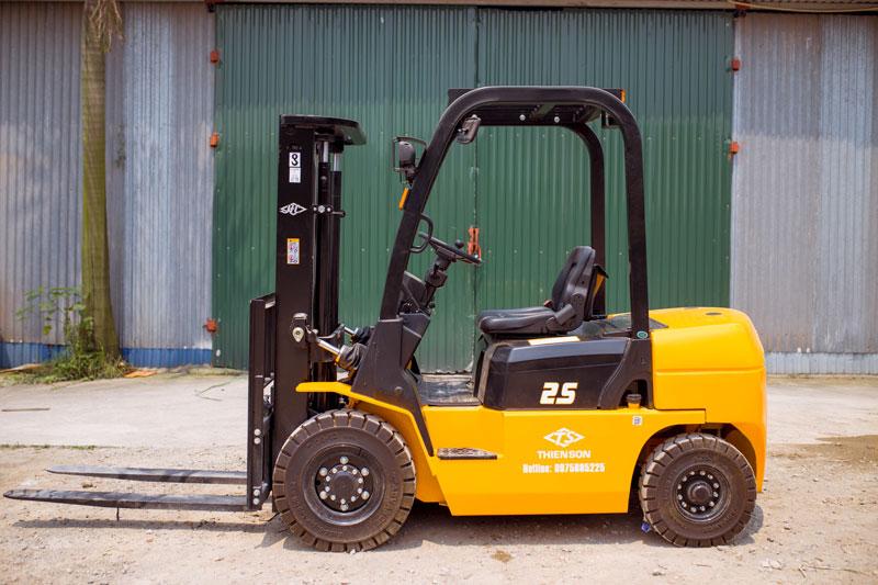 Xe nâng dầu 2.5 tấn X series động cơ ISUZU