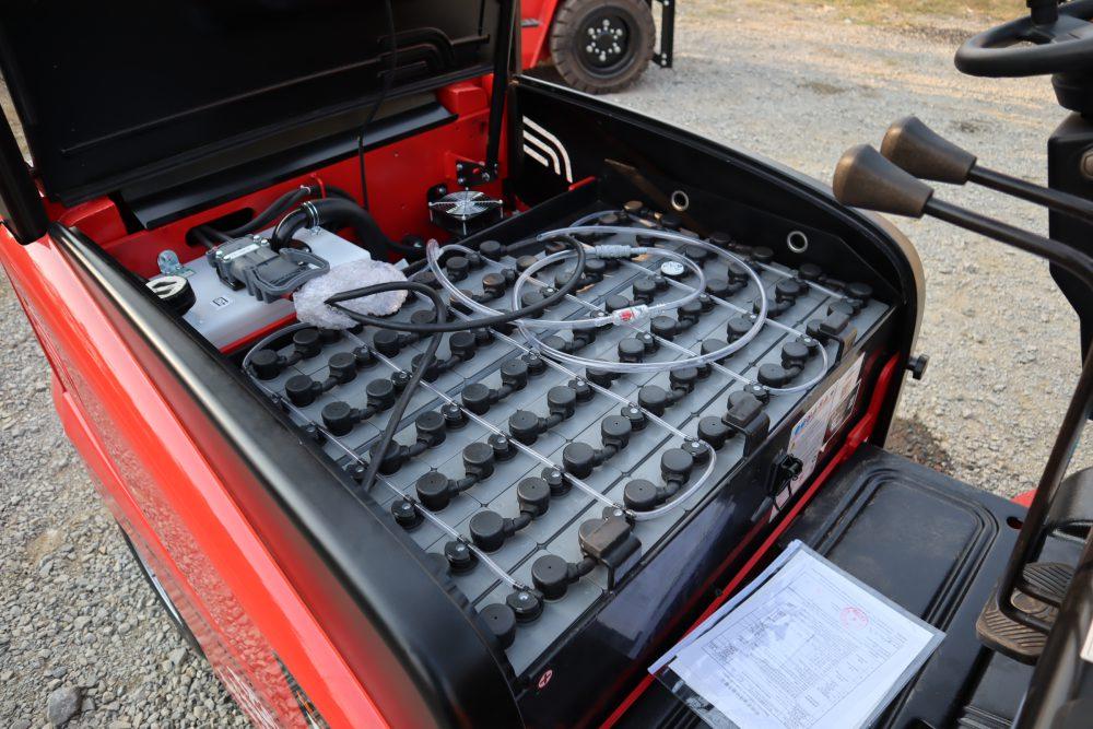 cấu tạo xe nâng điện 2.5 tấn