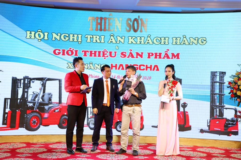 Hội nghị khách hàng xe nâng Thiên Sơn tại Hải Phòng