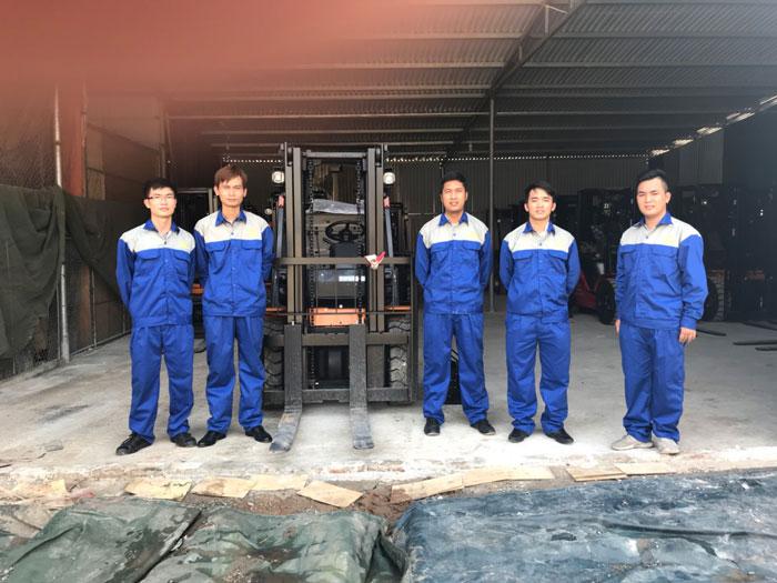 Đội ngũ kỹ thuật của Thiên Sơn luôn cố gắng đồng hành cùng khách hàng