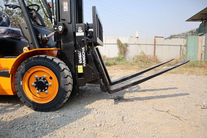 Dựa vào kích thước kiện hàng để lựa chọn xe nâng dầu diesel 3 tấn phù hợp