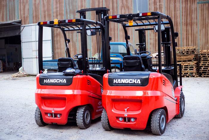 Giới thiệu xe nâng điện HangCha chính hãng