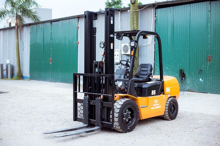 Xe nâng 3.5 tấn Hangcha mang thiết kế hiện đại, hiệu năng vượt trội