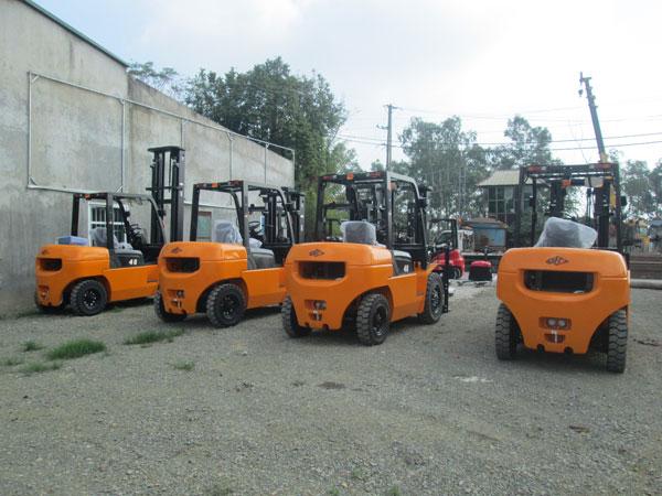Những cải tiến mới của xe nâng máy dầu 4 tấn