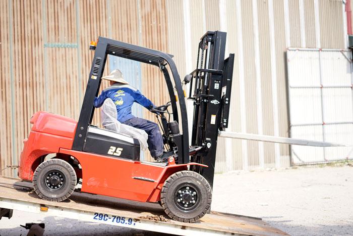 Xe nâng dầu 2,5 tấn A series CPCD25-AG2 Hangcha