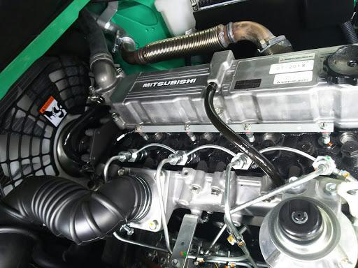 Động cơ Mitsubishitrên xe nâng máy dầu 3.5 tấn HangCha