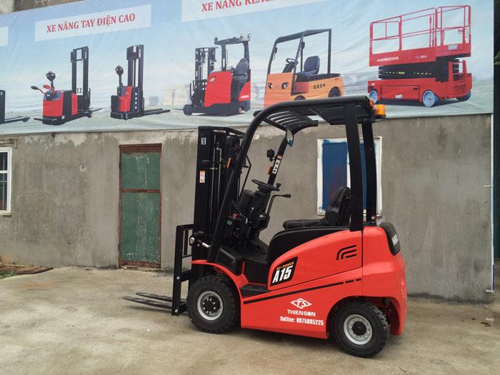 Xe nâng điện 1,5 tấn HangCha Trung Quốc