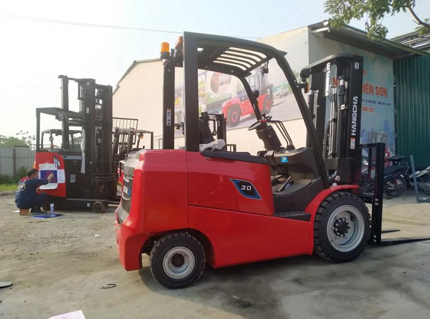 Xe nâng điện 3 tấn dòng AE HangCha