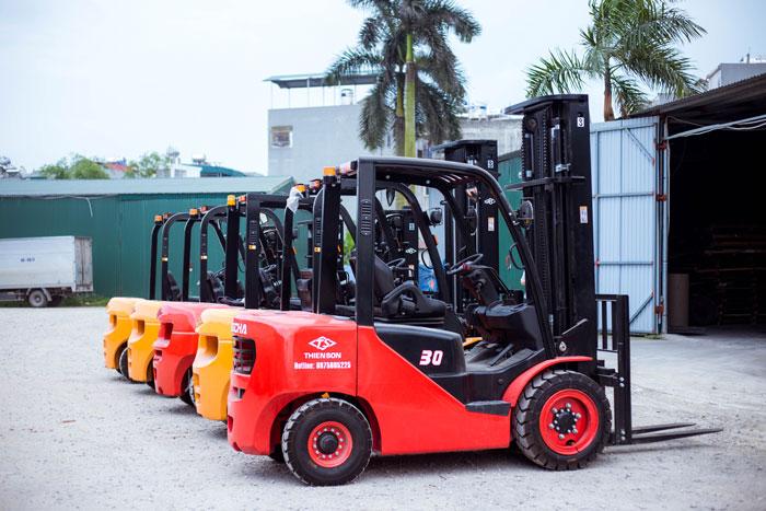 Các phiên bản xe nâng hàng 3 tấn HangCha