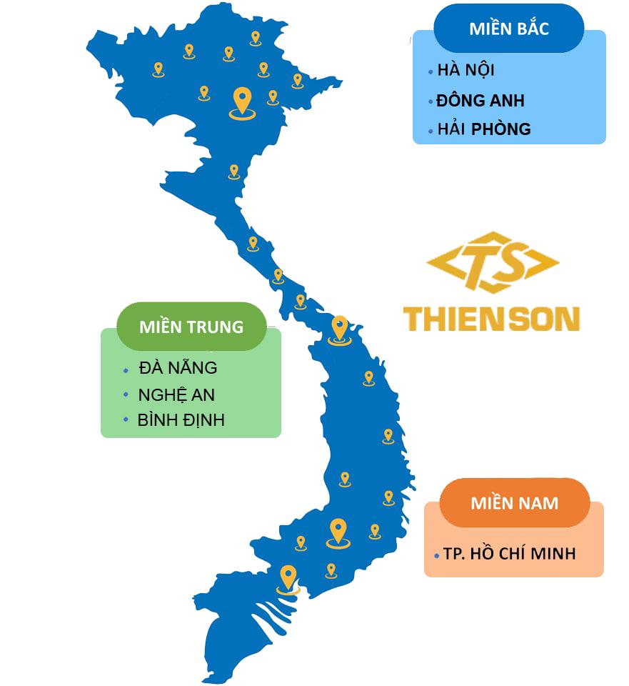 Hệ thống phân phối và bảo dưỡng xe nâng Hangcha