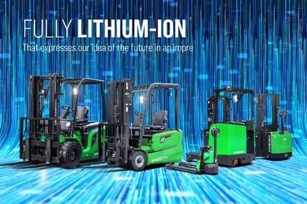 Tổng hợp các dòng xe nâng điện 1.5 tấn HangCha sử dụng pin lithium-ion