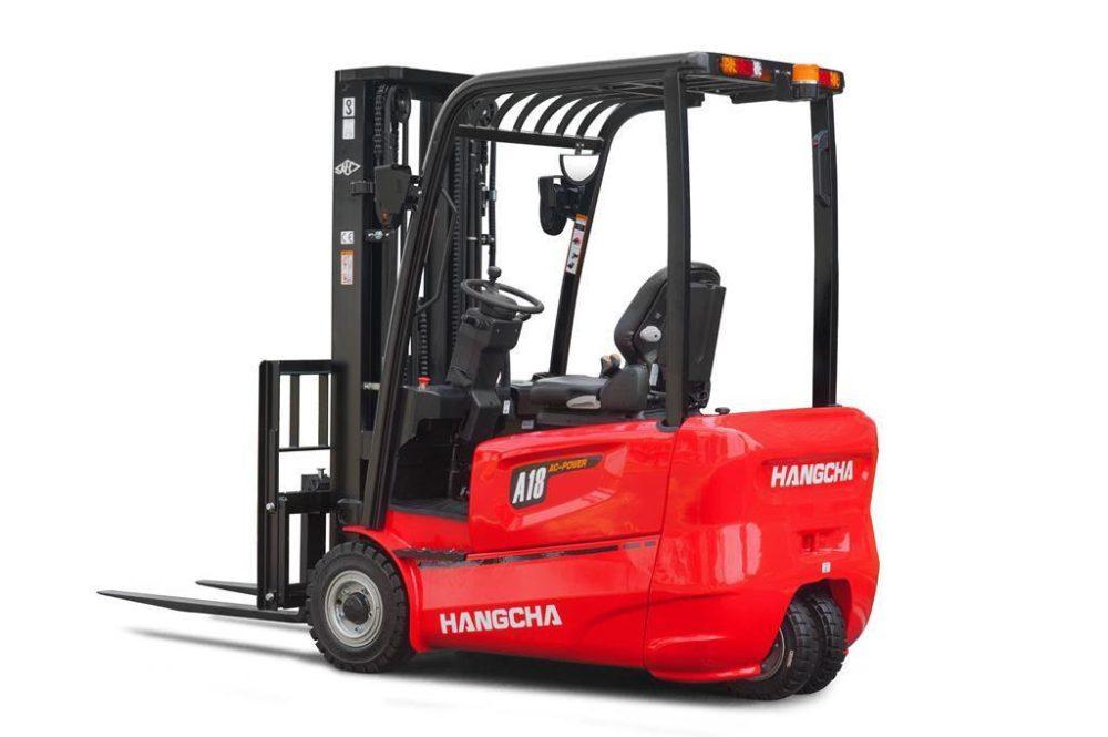Xe nâng điện ngồi lái 3 bánh 1.8 tấn HangCha