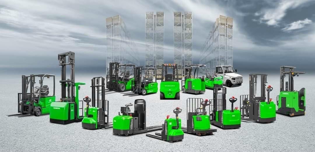 Tổng các mẫu xe nâng điện chạy pin lithium của HangCha