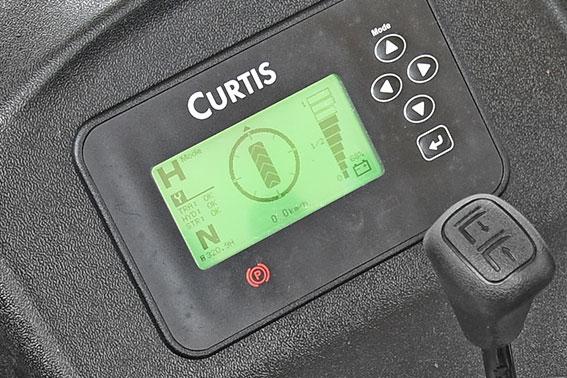 Màn hình Curtis trên xe nâng điện 2 tấn HangCha