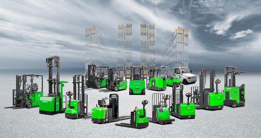 Tổng hợp xe nâng điện 2 tấn sử dụng pin Lithium