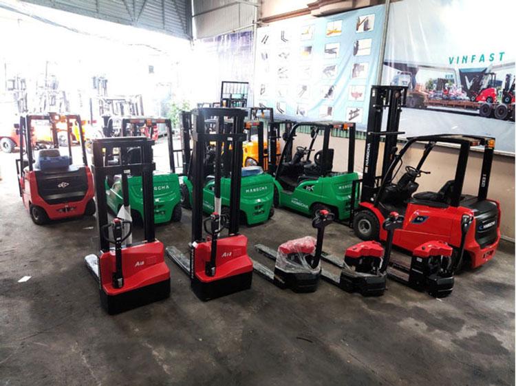 Thiên Sơn kho sản phẩm xe nâng điện mini